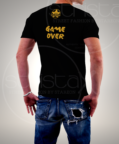 Printed Tee Shirt for Gamer