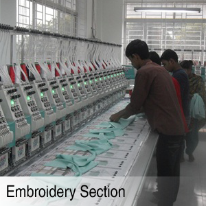 Embroidery Section
