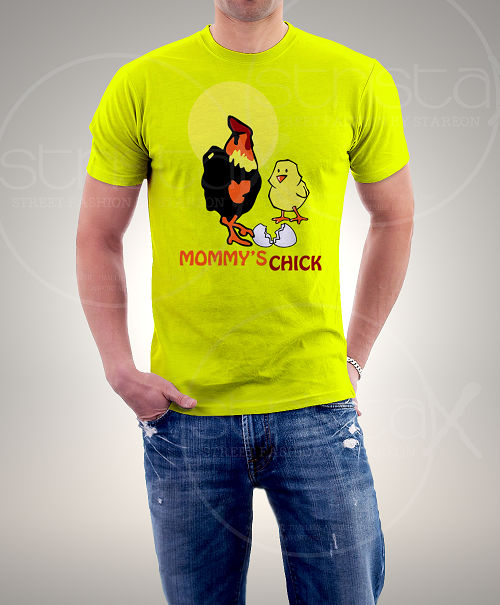 Mummys Chick Printed Tee Shirt