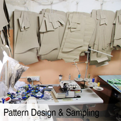 Pattern Design & Sampling Section