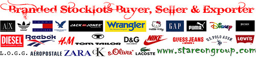 Clothing Stocklots Exporter