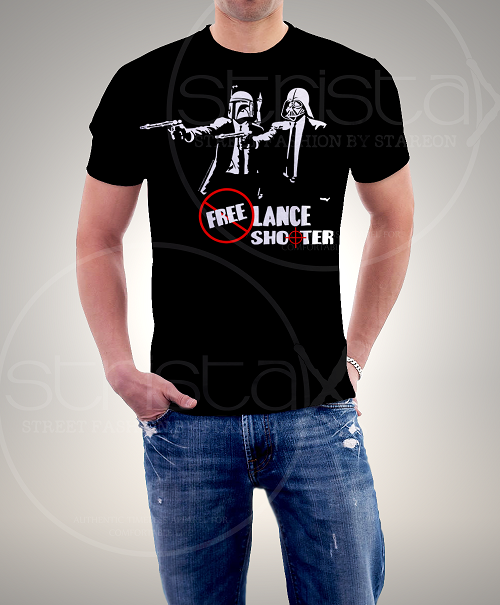 Freelance Shooter Printed Tee Shirt