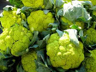 Fresh Green Cauliflower
